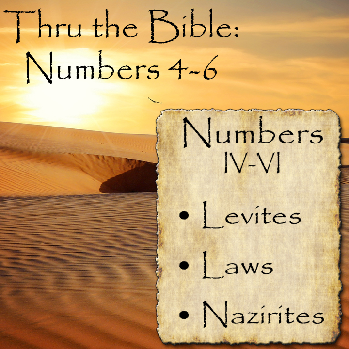 Levites, Laws & Nazirites - Numbers 4-6 - Living Grace