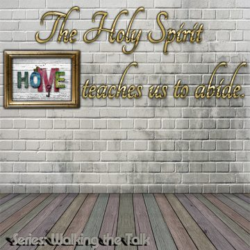 Holy Spirit Abide