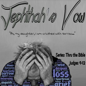 Jephthah Vow