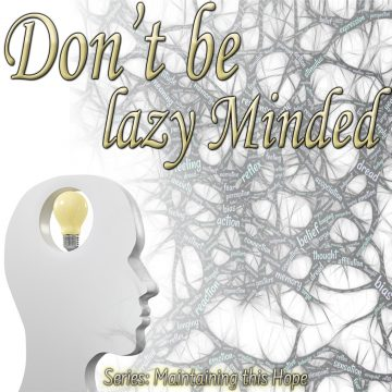 lazy minded