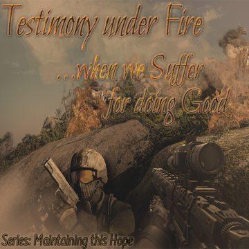 Testimony under fire