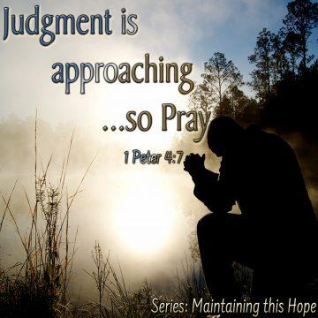 Judgment Pray