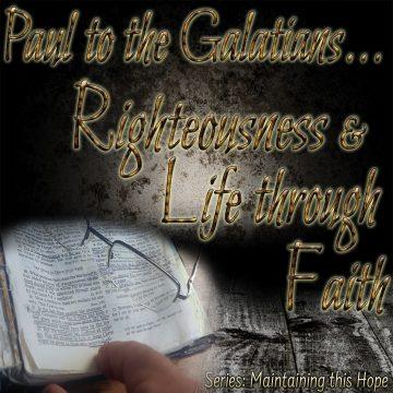 Righteousness Life Faith